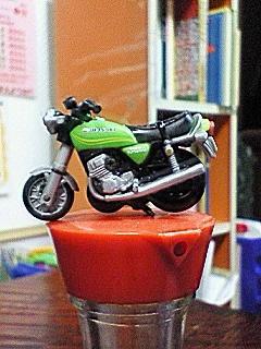 Kawasaki-kH250-チョロQ