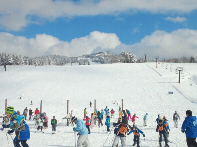 スキー2回目